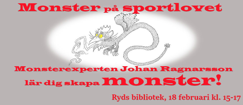 Monster på sportlovet - Ryds bibliotek